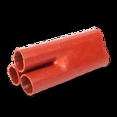 Антитрекинговая изолирующая перчатка трехпальцевая 3ТПИ-A-150/240